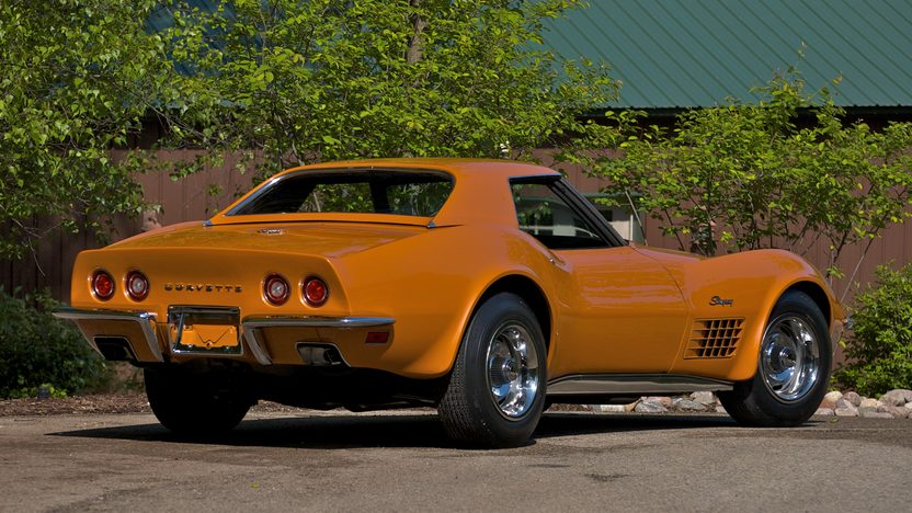 1971 Chevrolet Corvette ZR2 Convertible 454/425 HP, 4-Speed presented as lot S99 at St. Charles, IL 2011 - image2