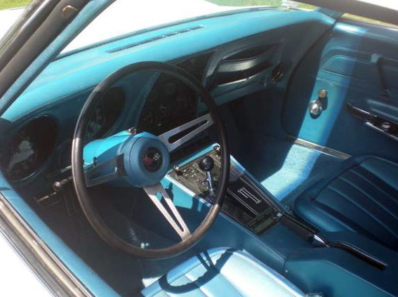 1970 Chevrolet Corvette ZR1 Convertible 350/370 HP, 4-Speed presented as lot S103 at St. Charles, IL 2011 - image5