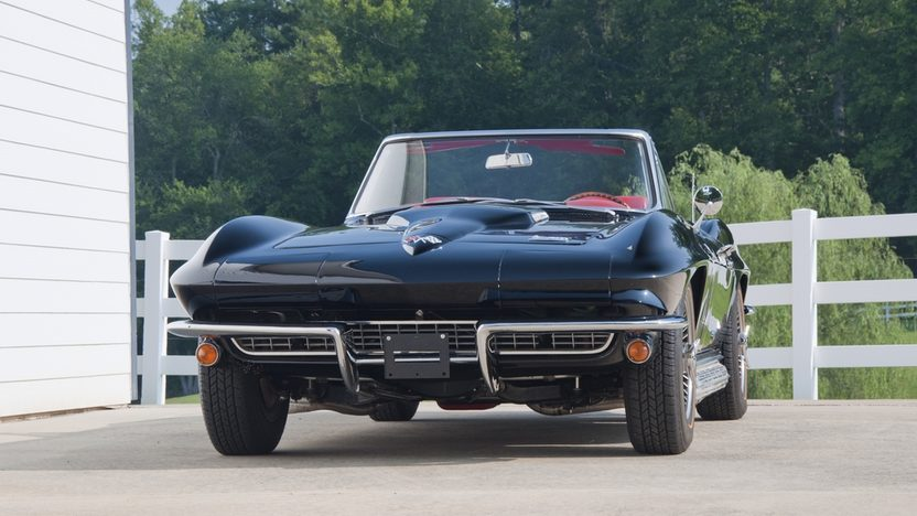 1966 Chevrolet Corvette Convertible 427/425 HP, 4-Speed presented as lot S40 at St. Charles, IL 2011 - image8