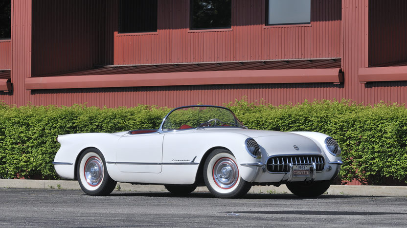 1953 Chevrolet Corvette Roadster 235 CI, Automatic presented as lot S96 at St. Charles, IL 2012 - image12