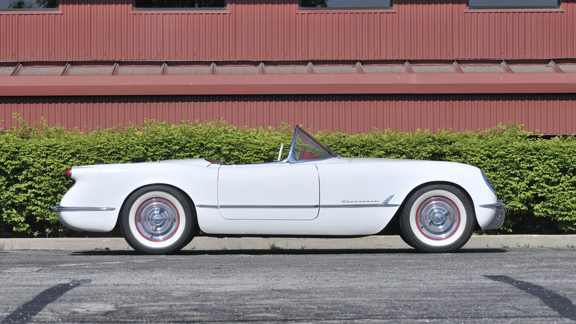 1953 Chevrolet Corvette Roadster 235 CI, Automatic presented as lot S96 at St. Charles, IL 2012 - image2