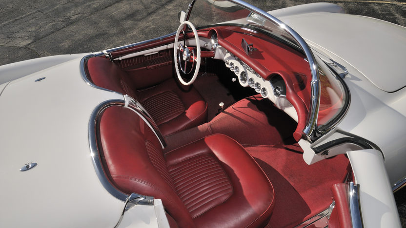 1953 Chevrolet Corvette Roadster 235 CI, Automatic presented as lot S96 at St. Charles, IL 2012 - image3
