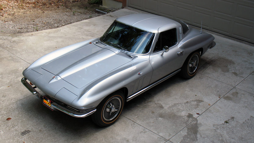 1965 Chevrolet Corvette Coupe 327/350 HP, 4-Speed presented as lot S101 at St. Charles, IL 2012 - image8