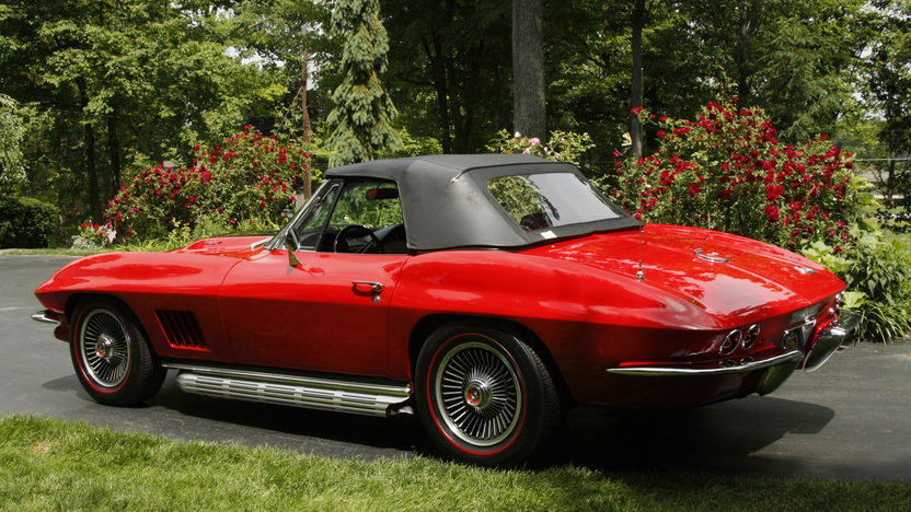 1967 Chevrolet Corvette Convertible 427/435 HP, 4-Speed presented as lot S87 at St. Charles, IL 2012 - image3