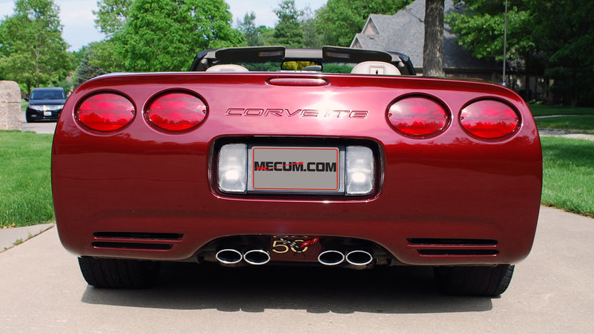 2003 Chevrolet Corvette Convertible 6-Speed, 50th Anniversary Edition presented as lot S30 at Champaign , IL 2013 - image3