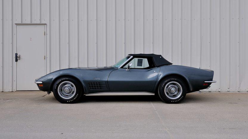 1970 chevrolet corvette lt1 convertible mecum champaign 2013 s54. Black Bedroom Furniture Sets. Home Design Ideas