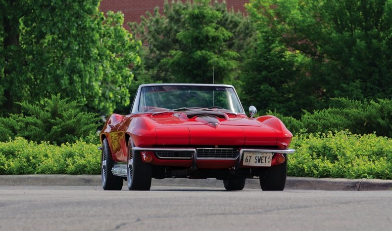 1967 Chevrolet Corvette Convertible 427/400 HP, Automatic with Factory A/C presented as lot S58 at Champaign , IL 2013 - image11