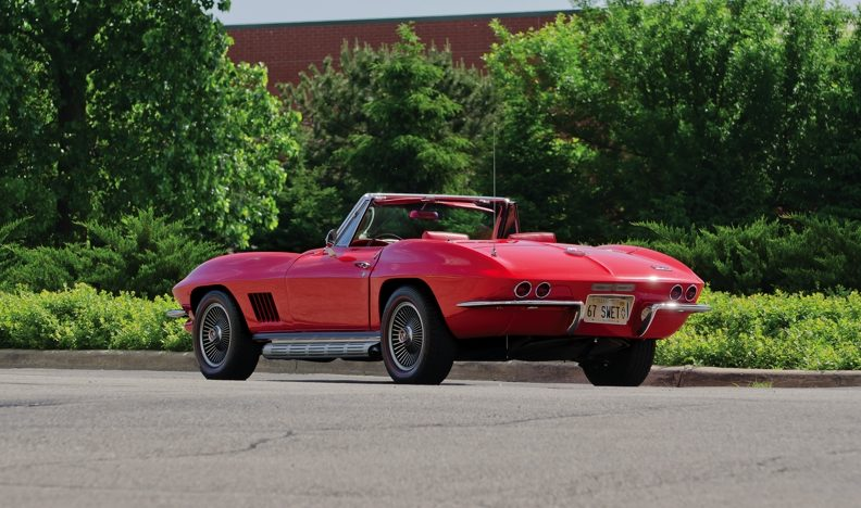 1967 Chevrolet Corvette Convertible 427/400 HP, Automatic with Factory A/C presented as lot S58 at Champaign , IL 2013 - image3