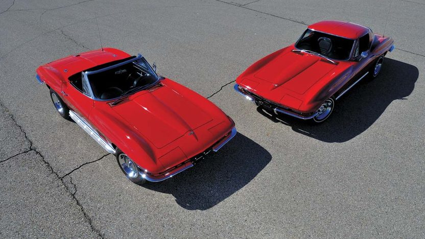 1967 Chevrolet Corvette Convertible Serial #7, Offered as a Pair with Lot S67.1 presented as lot S67 at Champaign , IL 2013 - image12