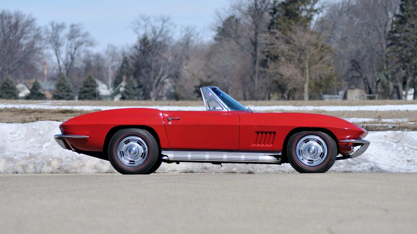1967 Chevrolet Corvette Convertible Serial #7, Offered as a Pair with Lot S67.1 presented as lot S67 at Champaign , IL 2013 - image2