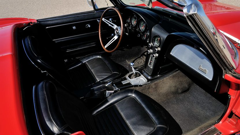 1967 Chevrolet Corvette Convertible Serial #7, Offered as a Pair with Lot S67.1 presented as lot S67 at Champaign , IL 2013 - image5