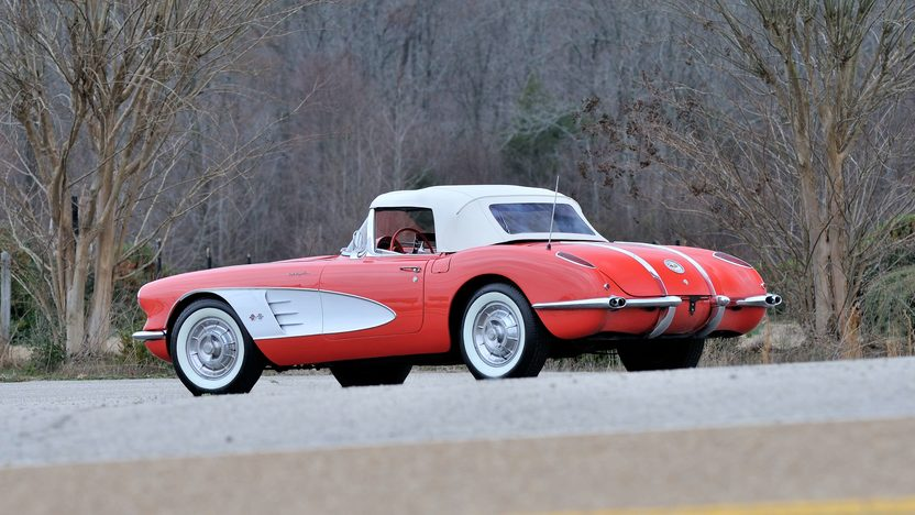 1958 Chevrolet Corvette Fuelie 283/290 HP, 4-Speed presented as lot S79 at Champaign , IL 2013 - image3
