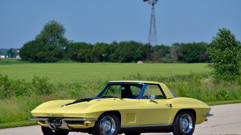 1967 Chevrolet Corvette Convertible 427/435 HP, 4-Speed presented as lot S87 at Champaign , IL 2013 - image12