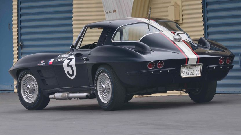 1963 Chevrolet Corvette Z06 Coupe Delmo Johnson/Dave Morgan Race Car presented as lot S78 at Monterey, CA 2009 - image2
