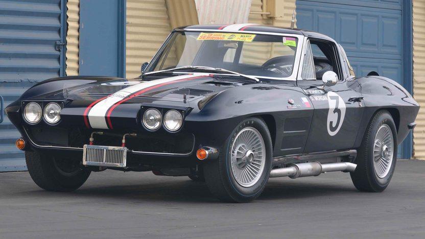 1963 Chevrolet Corvette Z06 Coupe Delmo Johnson/Dave Morgan Race Car presented as lot S78 at Monterey, CA 2009 - image3