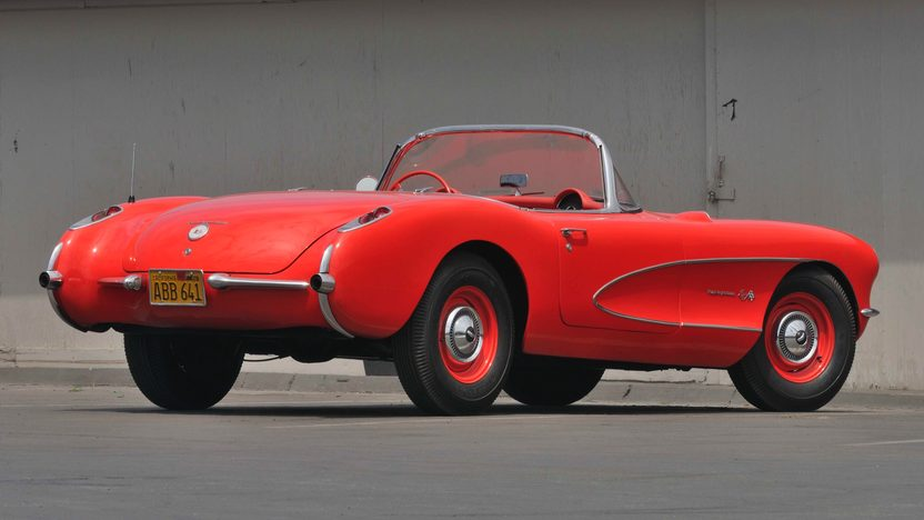 1957 Chevrolet Corvette Convertible 283/283 HP Fuel Injected, 3-Speed  presented as lot S39 at Monterey, CA 2009 - image2