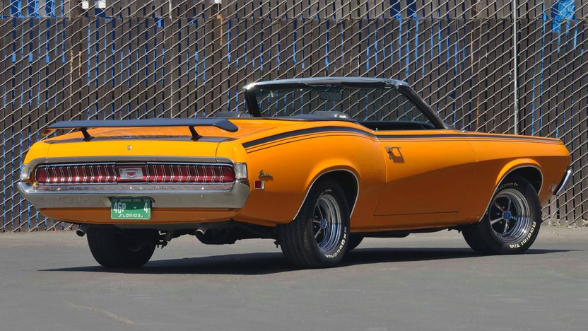 1970 Mercury Cougar XR7 Convertible 428 Cobra Jet Ram Air, 1 of 1 presented as lot S177 at Monterey, CA 2009 - image2