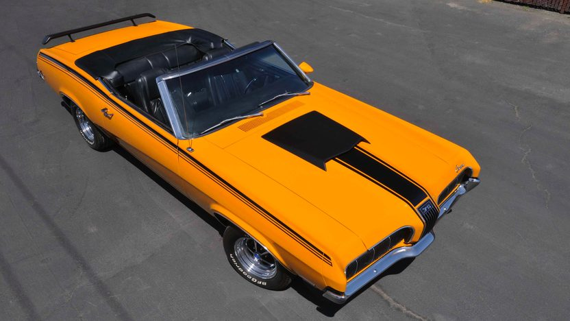 1970 Mercury Cougar XR7 Convertible 428 Cobra Jet Ram Air, 1 of 1 presented as lot S177 at Monterey, CA 2009 - image3