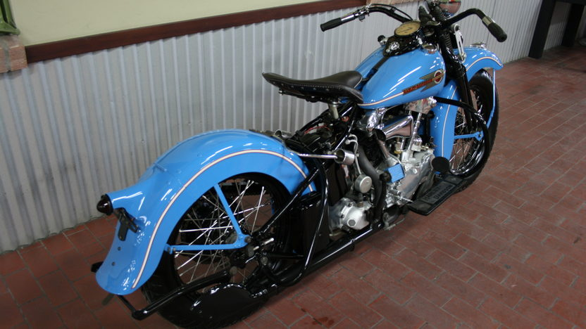 1938 Harley-Davidson EL Knucklehead 4-Speed   presented as lot S42 at Monterey, CA 2010 - image2