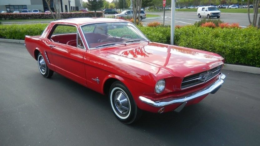 1965 Ford Mustang Coupe 200 CI, 3-Speed  presented as lot S50 at Monterey, CA 2010 - image2