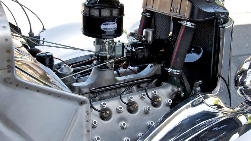 1936 Ford Deluxe 2-Door Sedan Factory Stainless Steel, 3-Speed   presented as lot S90 at Monterey, CA 2010 - image6