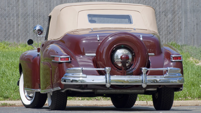 1948 Lincoln Continental Convertible 3-Speed   presented as lot S93 at Monterey, CA 2010 - image2