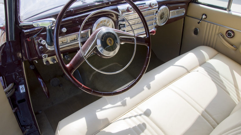 1948 Lincoln Continental Convertible 3-Speed   presented as lot S93 at Monterey, CA 2010 - image4
