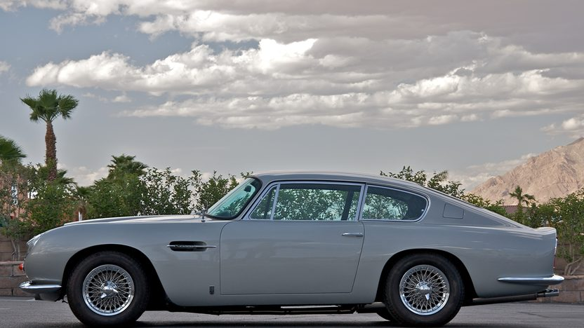 1966 Aston Martin DB6 Coupe The Bing Crosby Car presented as lot S105 at Monterey, CA 2010 - image4