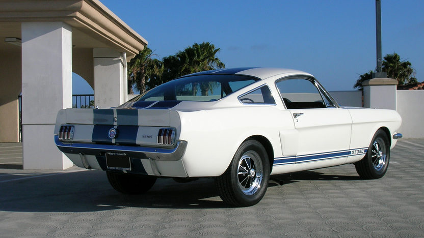 1965 Shelby GT350 Fastback #5S319,The 1966 GT350 Prototype               presented as lot S113 at Monterey, CA 2010 - image2