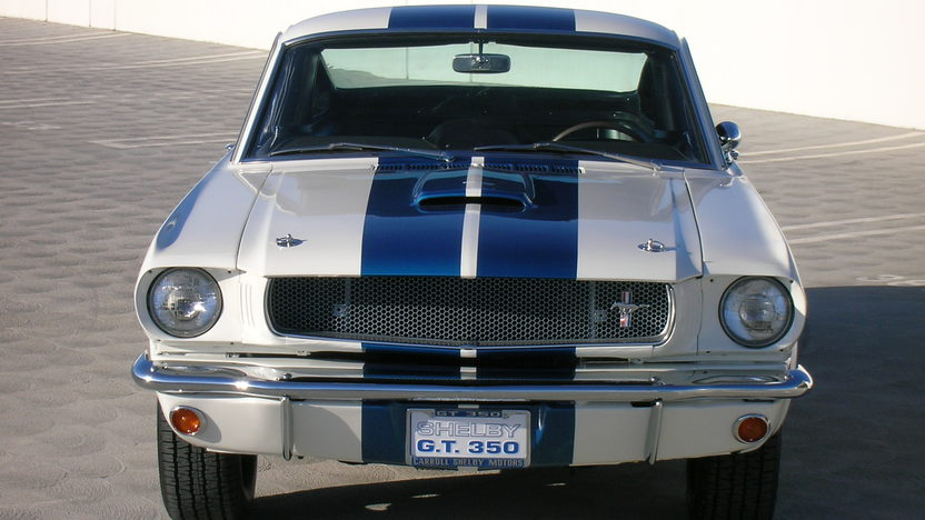 1965 Shelby GT350 Fastback #5S319,The 1966 GT350 Prototype               presented as lot S113 at Monterey, CA 2010 - image4