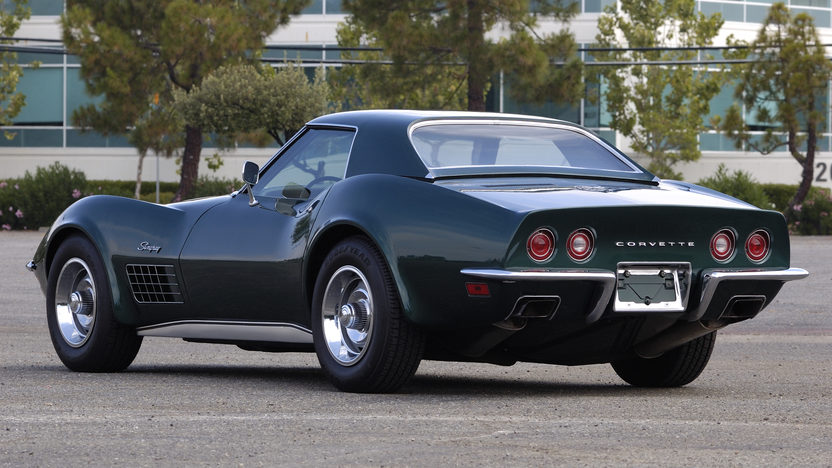 1971 Chevrolet Corvette ZR2 Convertible 454/425 HP, 4-Speed  presented as lot S118 at Monterey, CA 2010 - image2
