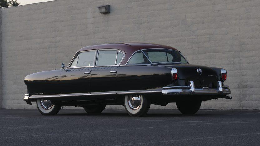 1953 Nash Ambassador Custom Sedan presented as lot F104 at Monterey, CA 2010 - image2