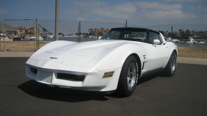 1980 Chevrolet Corvette Factory Turbocharged