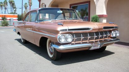1959 Chevrolet Biscayne 2-Door