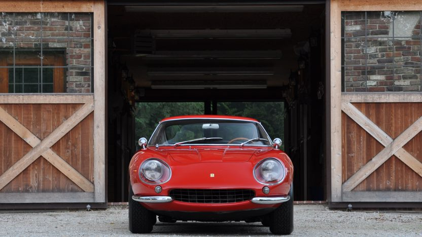 1967 Ferrari 275 GTB/4 Berlinetta Coupe S/N 09721 presented as lot S111.1 at Monterey, CA 2010 - image2