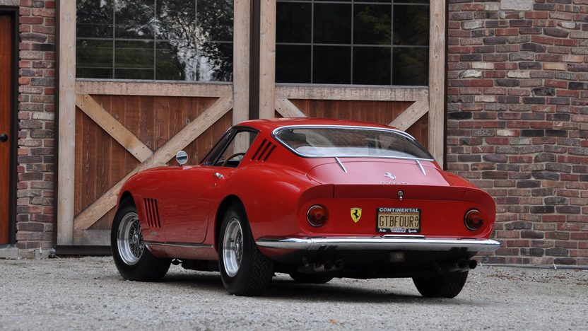 1967 Ferrari 275 GTB/4 Berlinetta Coupe S/N 09721 presented as lot S111.1 at Monterey, CA 2010 - image3
