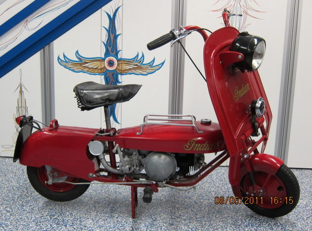 1953 Indian Papoose 98CC presented as lot T241 at Monterey, CA 2011 - image3
