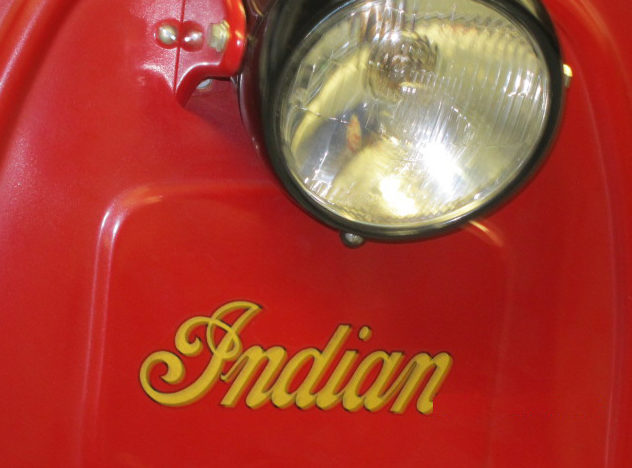 1953 Indian Papoose 98CC presented as lot T241 at Monterey, CA 2011 - image4