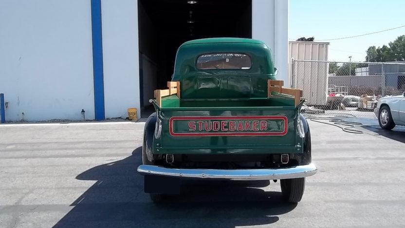 1947 Studebaker M5 Pickup 170 CI presented as lot F47 at Monterey, CA 2011 - image2