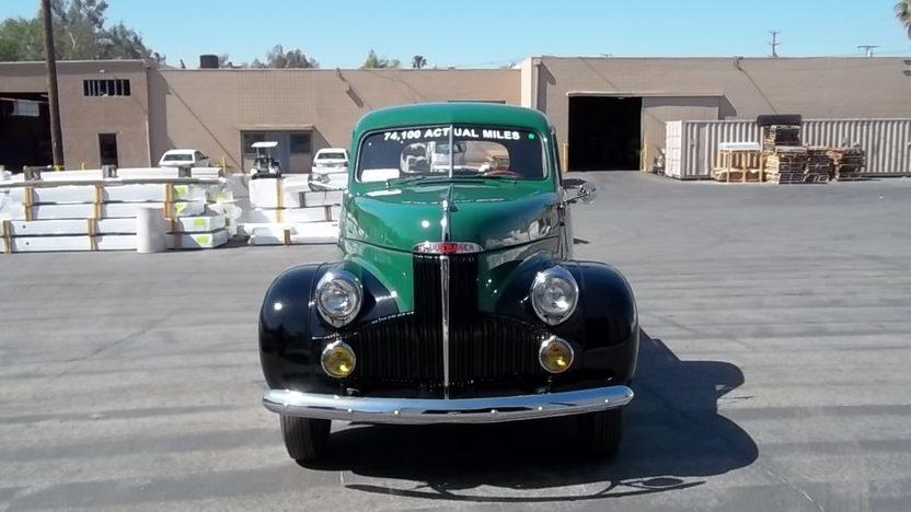 1947 Studebaker M5 Pickup 170 CI presented as lot F47 at Monterey, CA 2011 - image3