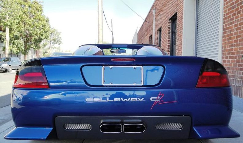 1999 Chevrolet Corvette Callaway C12 Speedster 346/440 HP, Automatic presented as lot F85 at Monterey, CA 2011 - image3