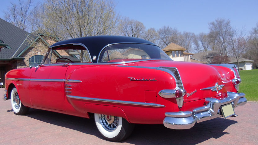 1954 Packard Pacific Hardtop 359/212 HP, Automatic presented as lot F145 at Monterey, CA 2011 - image2