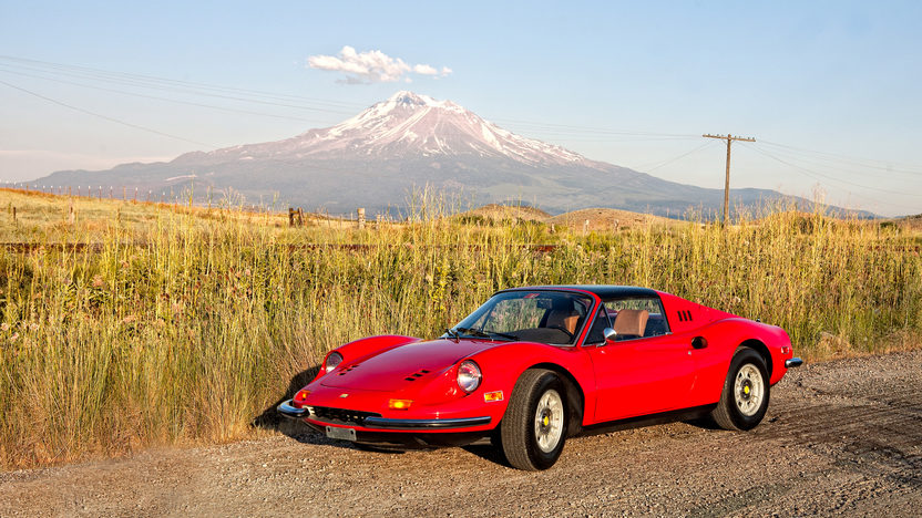 1974 Ferrari Dino 246 GTS Barn Find with 2,910 miles presented as lot S88 at Monterey, CA 2011 - image10