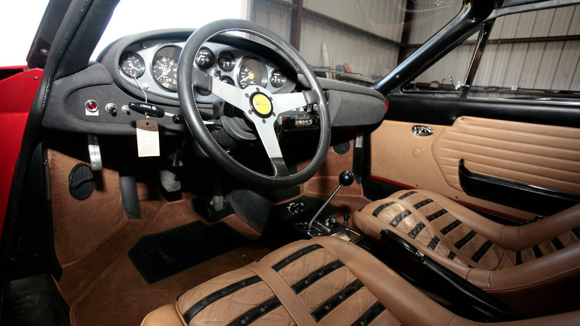 1974 Ferrari Dino 246 GTS Barn Find with 2,910 miles presented as lot S88 at Monterey, CA 2011 - image3