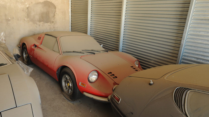 1974 Ferrari Dino 246 GTS Barn Find with 2,910 miles presented as lot S88 at Monterey, CA 2011 - image6