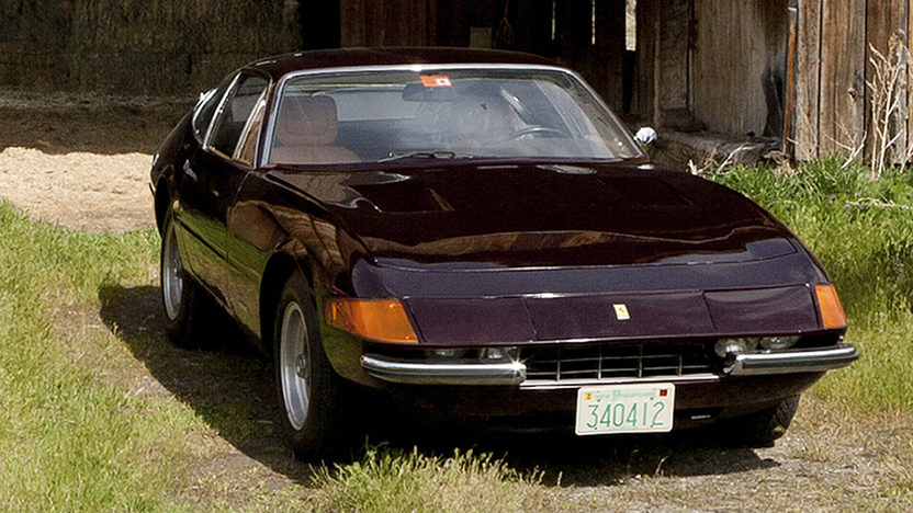 1972 Ferrari 365 GTB/4 Daytona Barn Find with 9,752 miles presented as lot S89 at Monterey, CA 2011 - image10