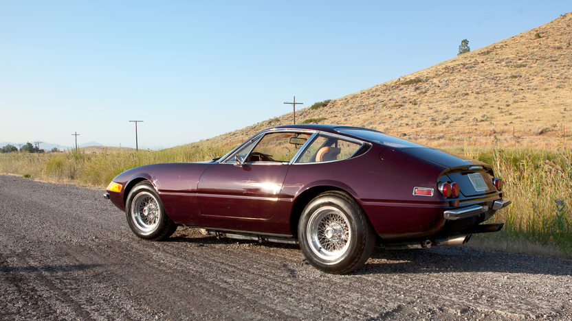 1972 Ferrari 365 GTB/4 Daytona Barn Find with 9,752 miles presented as lot S89 at Monterey, CA 2011 - image2