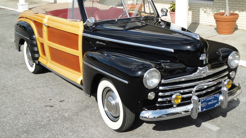 1947 Ford Sportsman Woody Convertible presented as lot S115 at Monterey, CA 2011 - image2