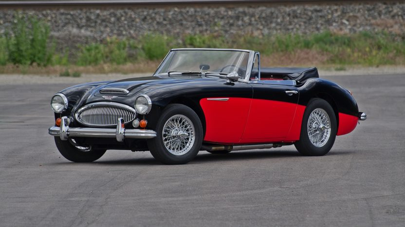 1966 Austin-Healey BJ8 Convertible 5-Speed presented as lot S83 at Monterey, CA 2011 - image3