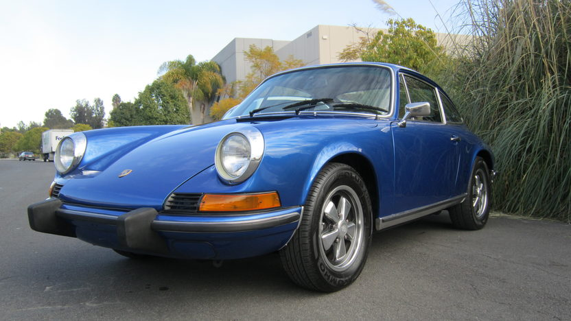 1973 Porsche 911 Coupe 2.4L, 5-Speed presented as lot T66 at Monterey, CA 2012 - image8